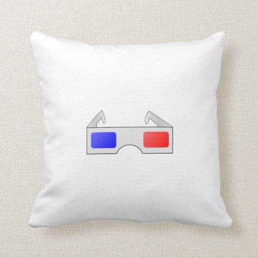 3D Glasses Pillow