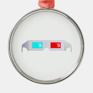 3D Glasses Christmas Tree Ornament
