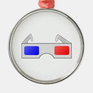 3D Glasses Christmas Ornament