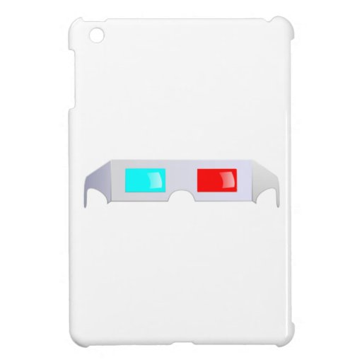 3D Glasses iPad Mini Case