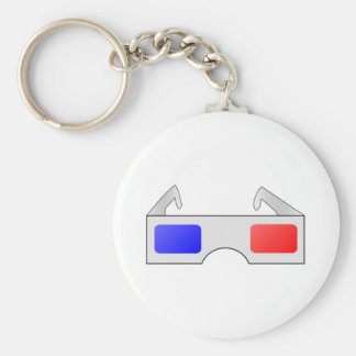 3D Glasses Keychains