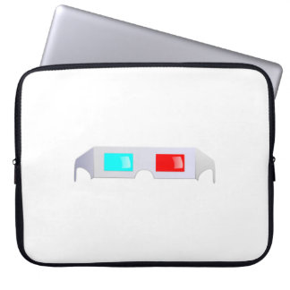 3D Glasses Laptop Computer Sleeve