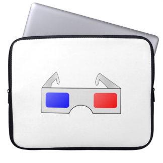 3D Glasses Laptop Sleeve