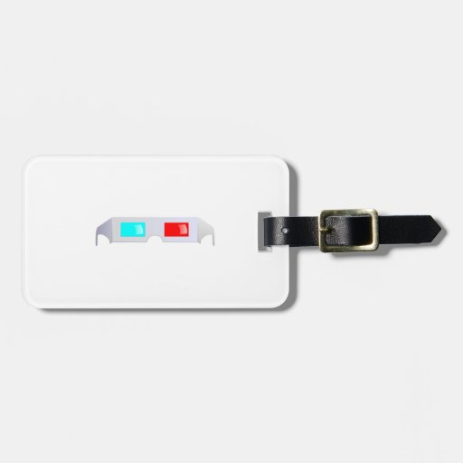 3D Glasses Tag For Luggage