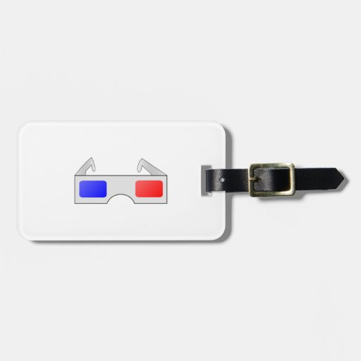 3D Glasses Tags For Bags