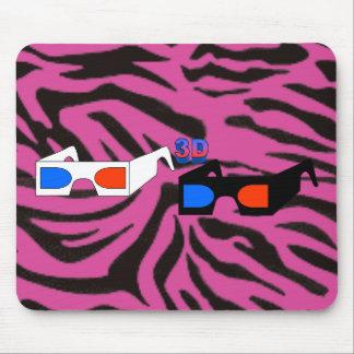 3D Glasses Mouse Pad