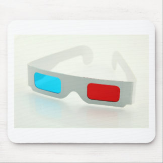 3D Glasses Mouse Pad