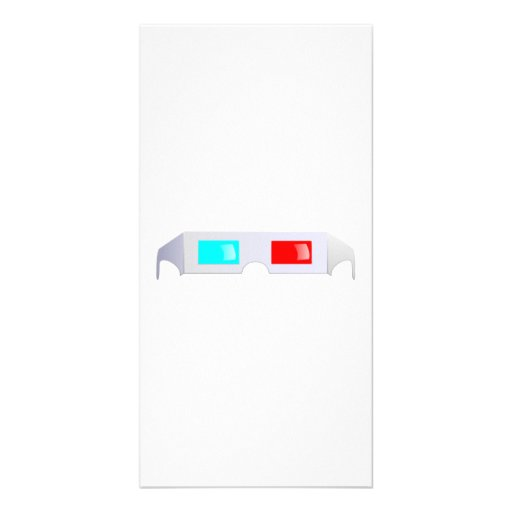 3D Glasses Picture Card