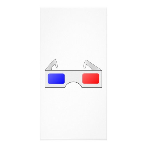 3D Glasses Customized Photo Card