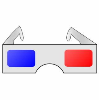 3D Glasses Photo Cutout