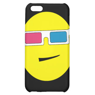 3D Glasses Smiley Speck Case iPhone 5C Cases