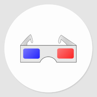3D Glasses Stickers