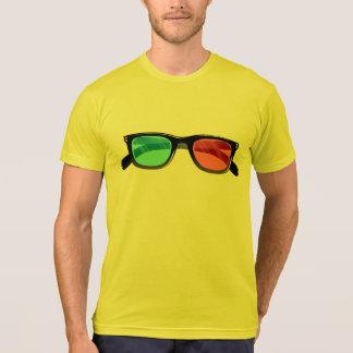3d glasses tee shirt