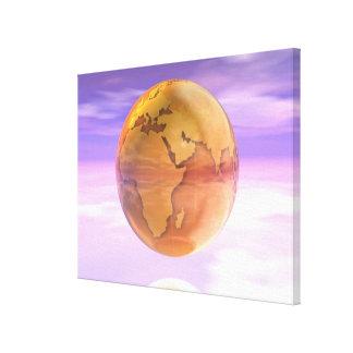 3D Globe 2 Canvas Print