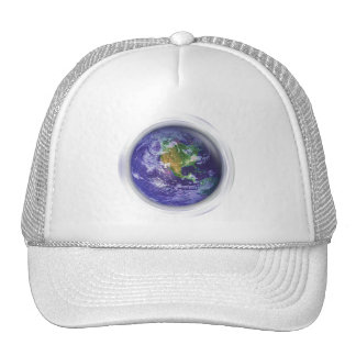 3D Globe Earth Day Cap