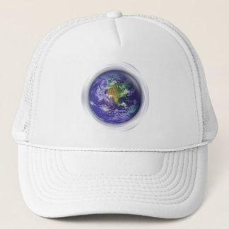 3D Globe Earth Day Trucker Hat