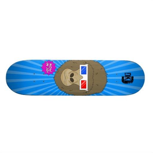 3D Gorilla Custom Skate Board