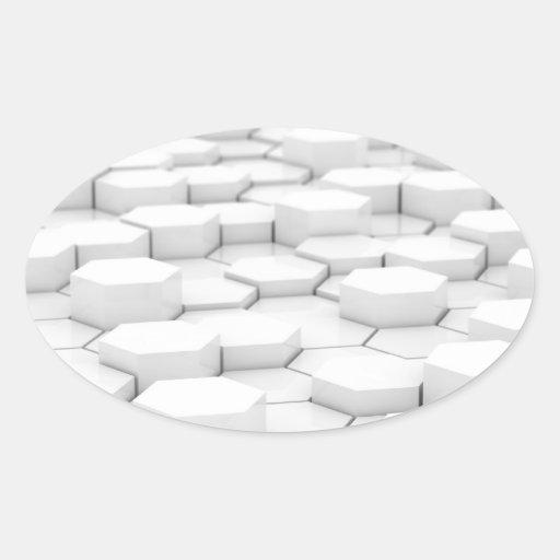 3d_hexagons_wallpaper_3d_models_3d_wallpaper_2560_ sticker