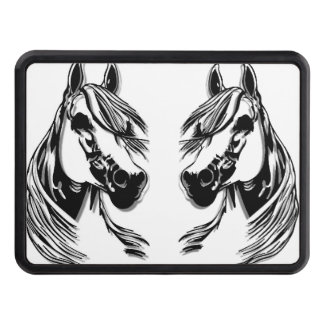 3D Horse Heads Trailer Hitch Covers