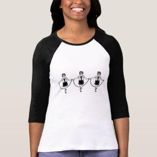 3D Jump Rope Triplets T-Shirt