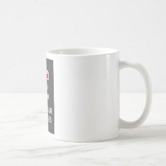 3D Keep Calm And Put You Glasses On Mug