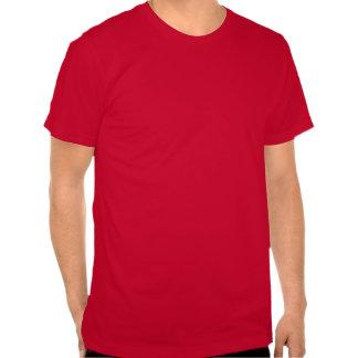 3D Liquid Silver GreenMan Damask on Red Satin Lush Shirts