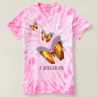 3D look Buttefly Tie-Dye T-Shirt