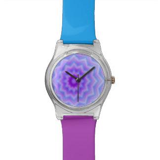3D look Floral pattern Watch
