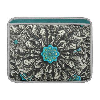 3D Lotus Mandala Macbook Air Sleeve