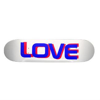 3D LOVE SKATEBOARD