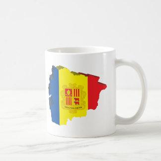 3D Map Of Andorra Coffee Mug