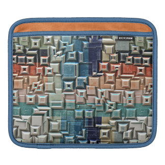 3D Metallic Structure iPad Sleeve