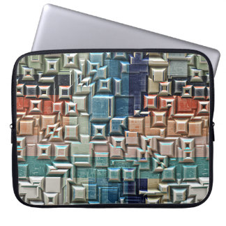 3D Metallic Structure Laptop Sleeve