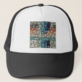 3D Metallic Structure Trucker Hat