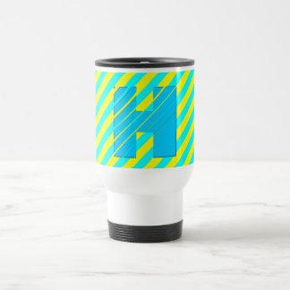 3D Monogram Festival Colors Travel Mug