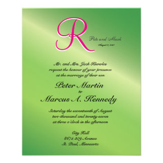 3d Monogram Verdant Green Pepper 11.5 Cm X 14 Cm Flyer