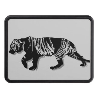 3D Mountain Tiger Tow Hitch Cover