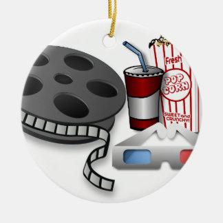 3D Movie Ceramic Ornament