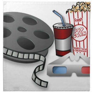 3D Movie Napkin