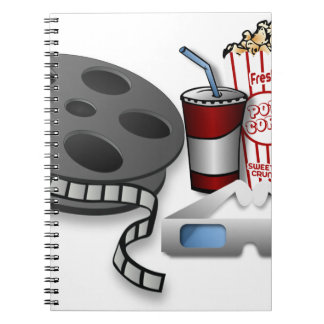 3D Movie Notebook