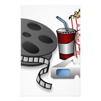 3D Movie Stationery