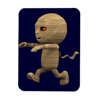 3d Mummy Chase! (Any Color U Like!) Rectangular Photo Magnet