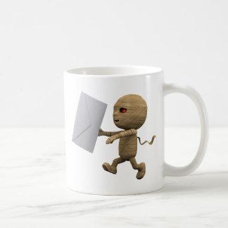 3d Mummy Letter Coffee Mug