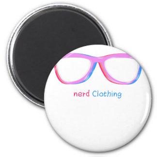 3D nerds 6 Cm Round Magnet