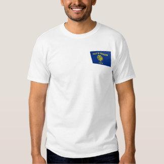 3D Oregon State Flag Tshirts