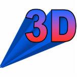 3D Ornament (up right) Photo Sculpture Decoration