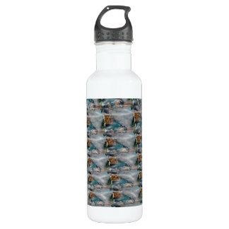 3d Pearl Precious Stone Collection 710 Ml Water Bottle