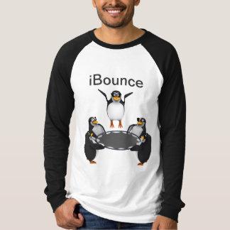 3d Penguin Trampoline iBounce T-Shirt