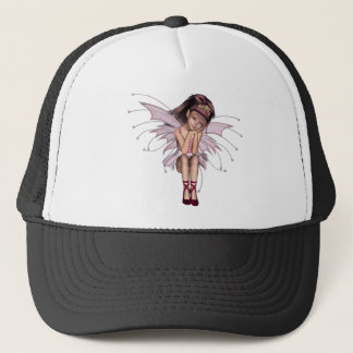3D Pink Pixie 3 Trucker Hat