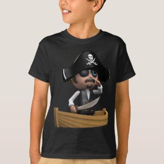 3d Pirate Ship (Any Color U Like!) Tees